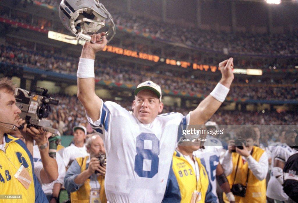 Super Bowl XXVIII: Buffalo Bills v Dallas Cowboys : News Photo