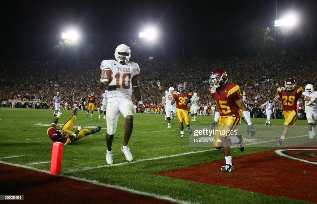 National Championship Rose Bowl: USC v Texas : News Photo