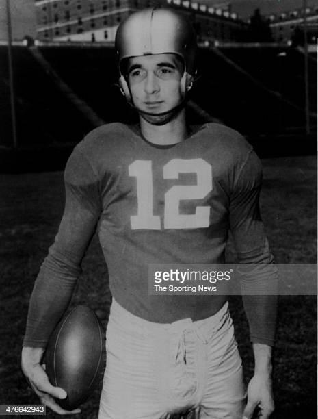 Quarterback Zeke Bratkowski of the University of Georgia Bulldogs circa 1952 in Athens Georgia