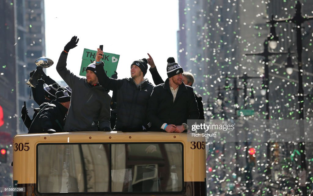 Super Bowl LII - Philadelphia Eagles Victory Parade : News Photo