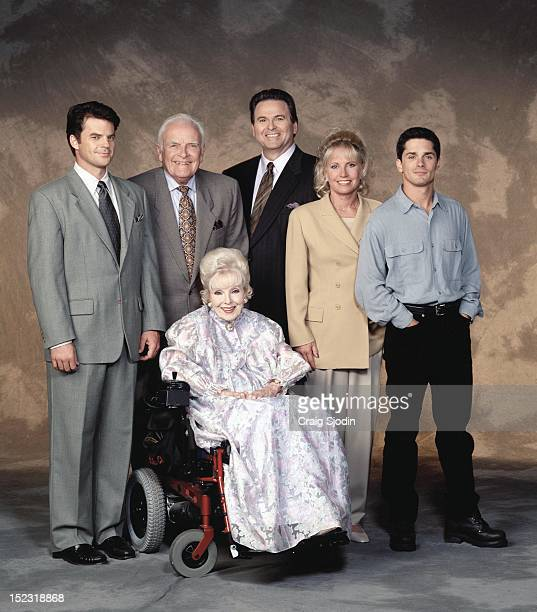 HOSPITAL Quartermaine family gallery 7/9/97 Wally Kurth John Ingle Anna Lee Stuart Damon Leslie Charleson and Billy Warlock star on ABC Daytime's...