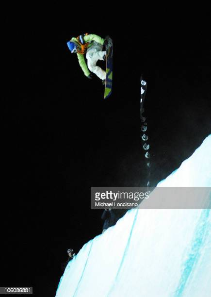 Quarterpipe Finals March 17th during 24th Annual Burton US Open Snowboarding Championships at Stratton Mountain in Stratton Vermont United States