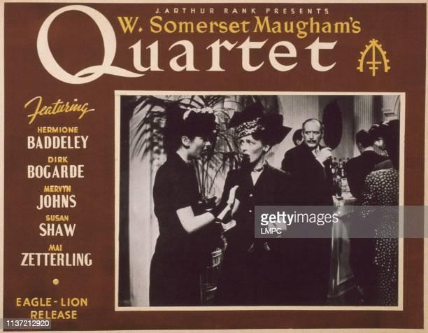 Quartet lobbycard Yvonne Owen Margaret Thorburn Cecil Parker 1948