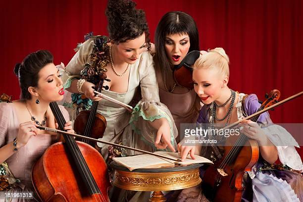 quartet - string quartet stock photos and pictures
