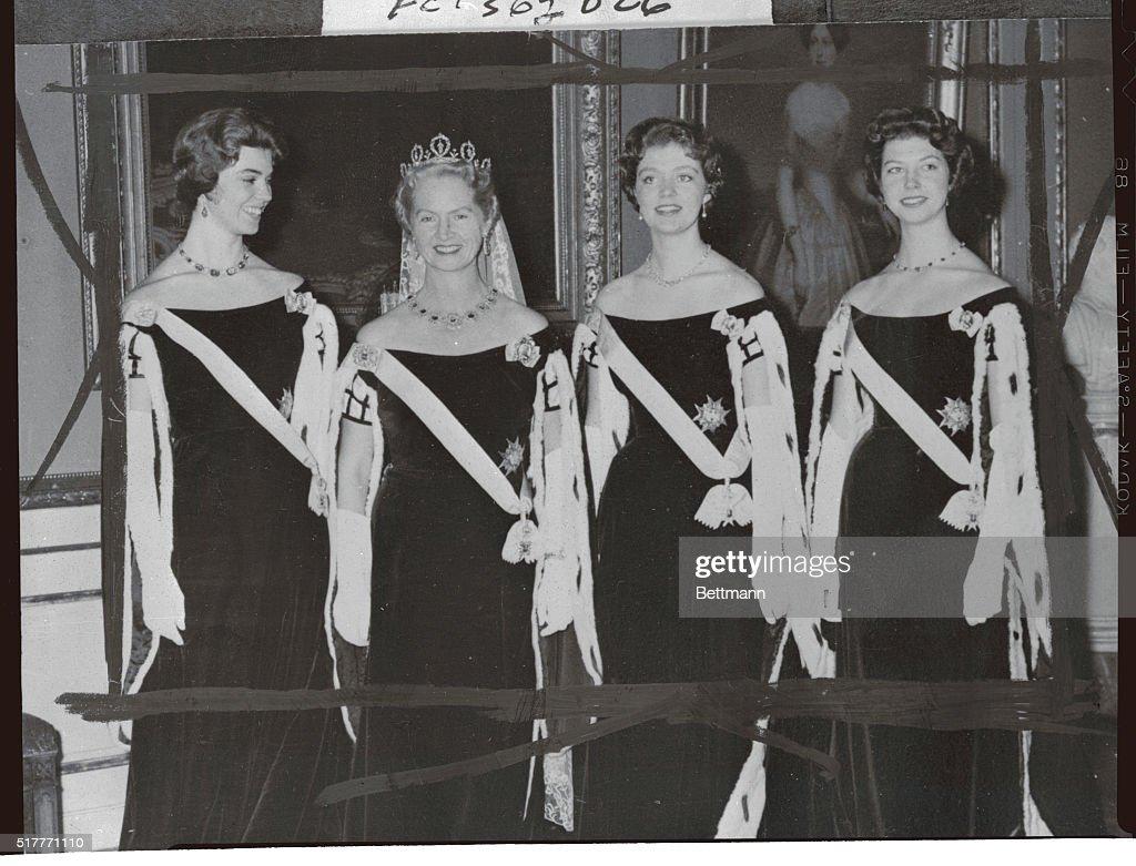 Quartet of Swedish Princesses : News Photo