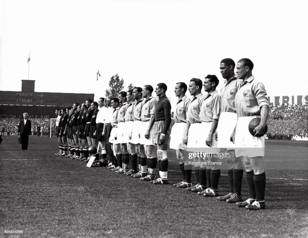 Coupe du monde de football 1938 : Photo d'actualité