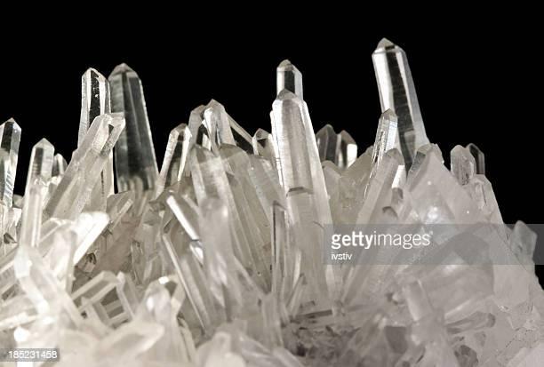 quartz crystals - quartz stock pictures, royalty-free photos & images