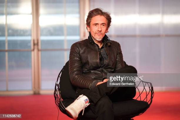 Quarxx attends the Tous Les Dieux Du Ciel Premiere At Cinema Georges Melies on April 13 2019 in Montreuil France