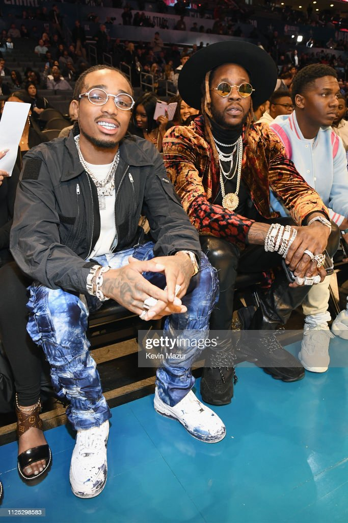NC: Celebrities Attend The 2019 NBA All-Star Saturday Night