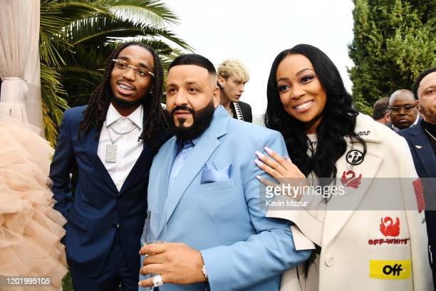 Quavo and DJ Khaled and guest attend 2020 Roc Nation THE BRUNCH on January 25 2020 in Los Angeles California