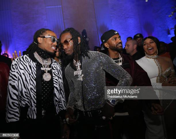 Quavo and Offset at The MacArthur on December 13 2017 in Los Angeles California