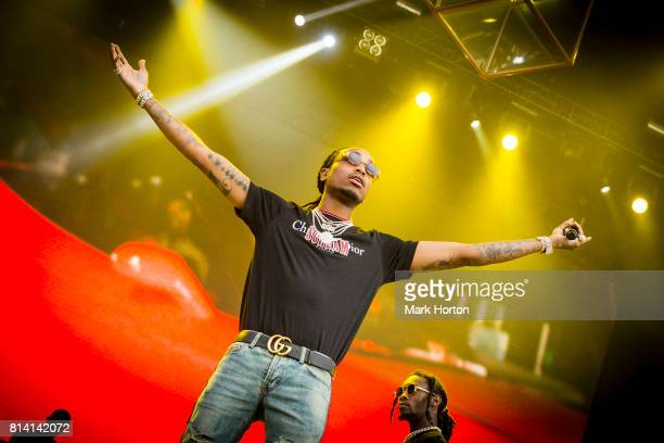 Quavo and Offset of Migos perform on Day 7 of the RBC Bluesfest on July 13 2017 in Ottawa Canada