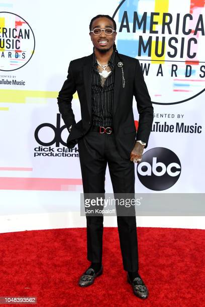 Quavo attends the 2018 American Music Awards at Microsoft Theater on October 9 2018 in Los Angeles California