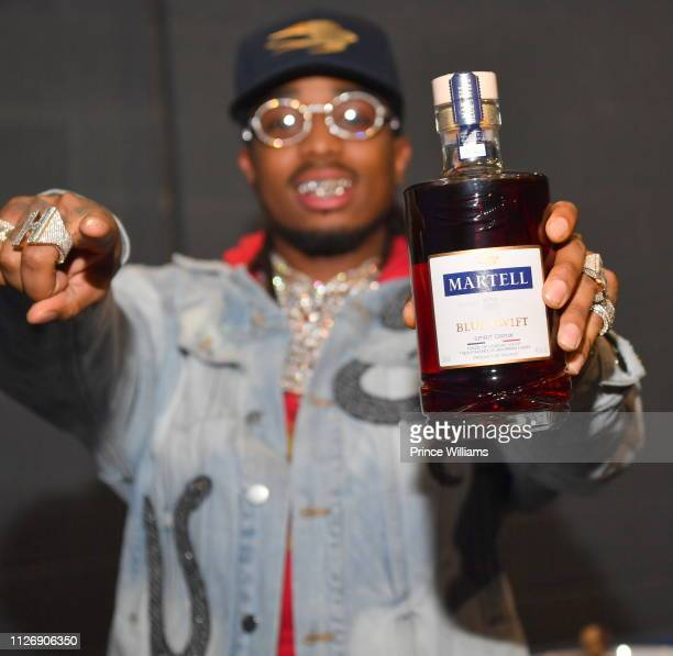 Quavo makes a statement with Martell at The Masquerade Heaven in Atlanta. The event featured VIP guests and a performance by Migos. The Masquerade on...