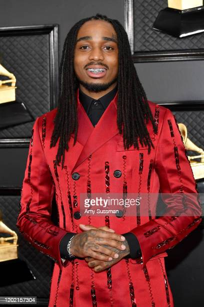 Quavo of Migos attends the 62nd Annual GRAMMY Awards at Staples Center on January 26, 2020 in Los Angeles, California.