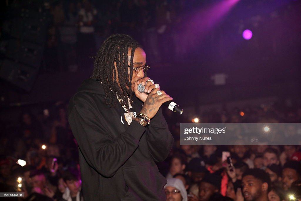 Quavo of Migos performs at Highline Ballroom on January 27, 2017 in New York City.