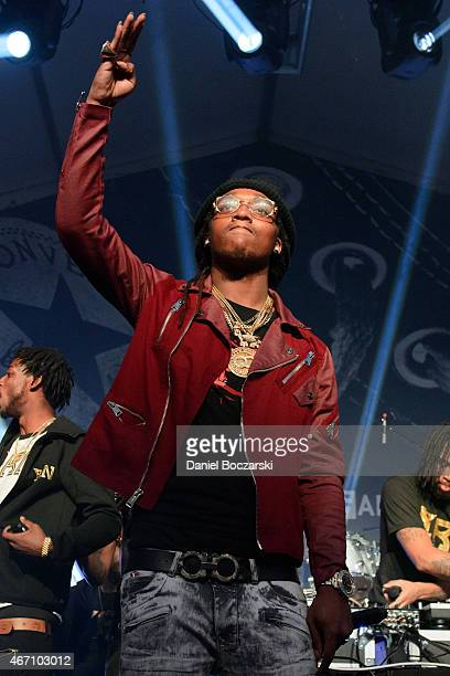 Quavo of Migos performs at THE FADER FORT Presented by Converse during SXSW on March 20 2015 in Austin United States