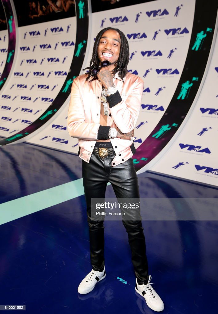 Quavo of music group Migos attends the 2017 MTV Video Music Awards at The Forum on August 27, 2017 in Inglewood, California.
