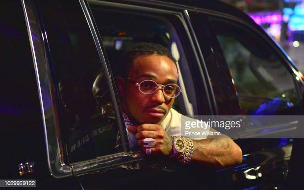 Quavo of the group Migos attends The Culture II Tour After Party at Bijou on September 9 2018 in Boston Massachusetts