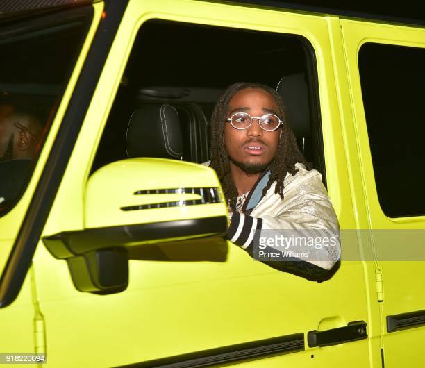 Quavo of The Group Migos attends Trap Du Soleil Celebrating YFN Lucci on February 13 2018 in Atlanta Georgia