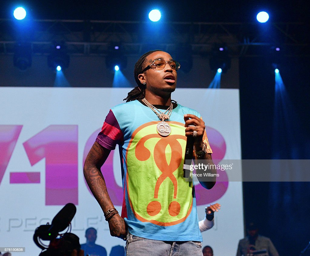 Quavo of the Group Migos Performs at the 13th annual Bike Show at Georgia World Congress Center on July 16, 2016 in Atlanta, Georgia.