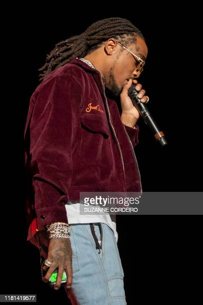 Quavo of the group Migos performs during the Astroworld Festival at NRG Stadium on November 9 2019 in Houston Texas