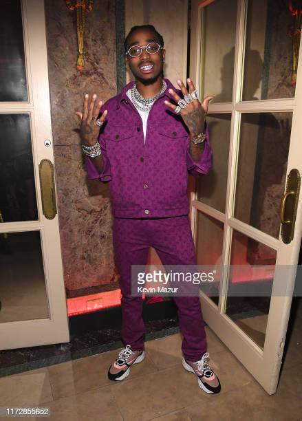 """Quavo of the Migos attends as Harper's BAZAAR celebrates """"ICONS By Carine Roitfeld"""" at The Plaza Hotel presented by Cartier - Inside on September 06,..."""