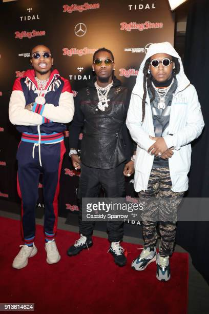 Quavo Offset and Takeoff of Migos at Rolling Stone Live Minneapolis presented by MercedesBenz and TIDAL Produced in partnership with Talent Resources...
