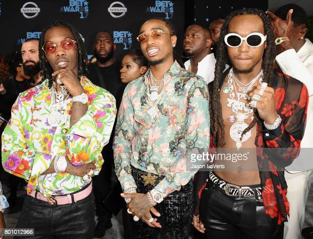 Takeoff Of Migos Stock Photos And Pictures Getty Images