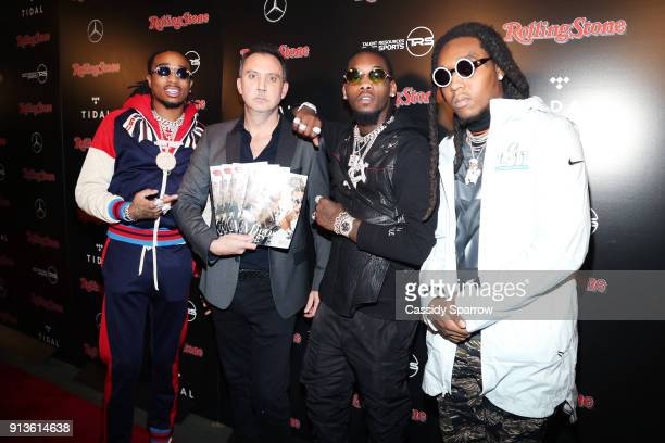 Quavo Publisher of Rolling Stone Michael Provus Offset and Takeoff of Migos at Rolling Stone Live Minneapolis presented by MercedesBenz and TIDAL...