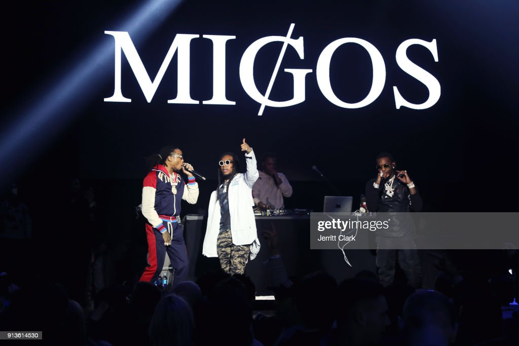 Quavo, Takeoff and Offset of Migos perform onstage at Rolling Stone Live: Minneapolis presented by Mercedes-Benz and TIDAL. Produced in partnership with Talent Resources Sports on February 2, 2018 in Minneapolis, Minnesota.