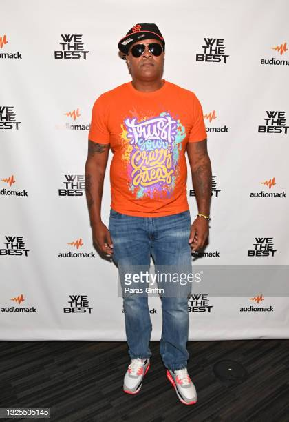 Quayshaun Carter attends AudioMack Presents Beyond The Beat With DJ Khaled at The GRAMMY Museum on June 25, 2021 in Los Angeles, California.