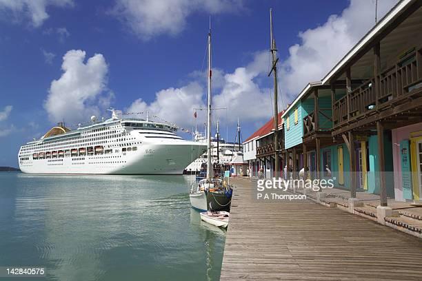 Quayside, St Johns, Antigua, Caribbean