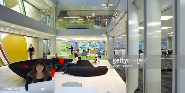 Qube 90 Whitfield StreetOffice Architect London Hok Offices Hok Architects The Qube Building 90 Whitfield Street London Uk 2009 Interior Ground Floor...