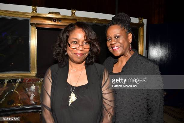 Qubilah Shabazz and Robin Hickman attend the Gordon Parks Foundation Awards Dinner Auction at Cipriani 42nd Street on June 6 2017 in New York City