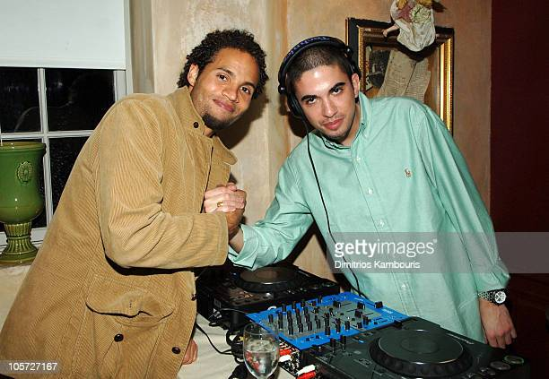 Quddus and DJ Cassidy during Glamour Magazine's Party For NY Post's Page Six Paula Froelich Book It at Private Residence in New York City New York...