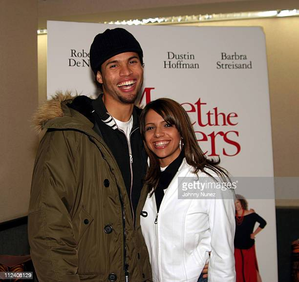 """Quddus and Vida Guerra during Bud Light Presents """"Meet The Fockers"""" New York City Premiere at Loews Movie Theater 3rd Avenue in New York City, New..."""