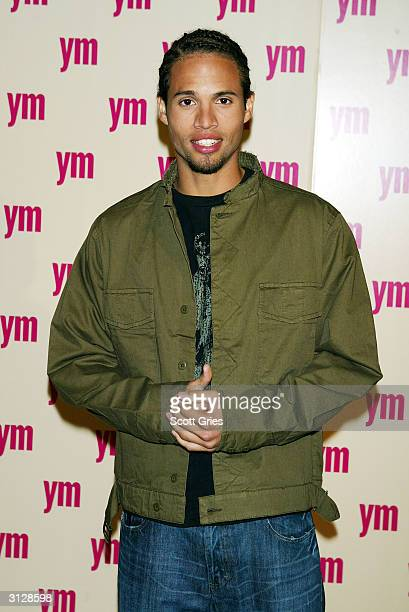 Quddus arrives at the 5th Annual YM MTV Issue party at Spirit March 24 2004 in New York City