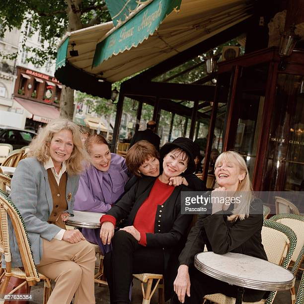Quebec actress Alexandra Stewart French actress Bernadette Lafont Danish actress Anna Karina and French actresses Macha Meril and Francoise Brion The...