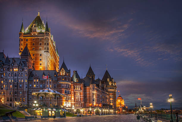 Quebec City, Chateau Frontenac Hotel Wall Art