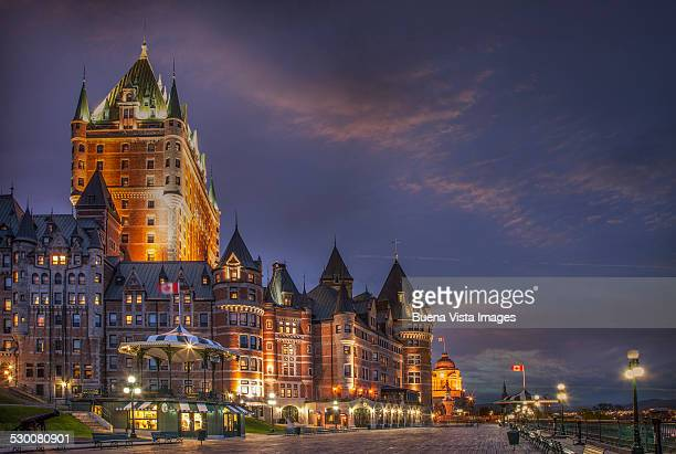 Quebec City, Chateau Frontenac Hotel