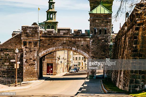 quebec city - old quebec stock pictures, royalty-free photos & images