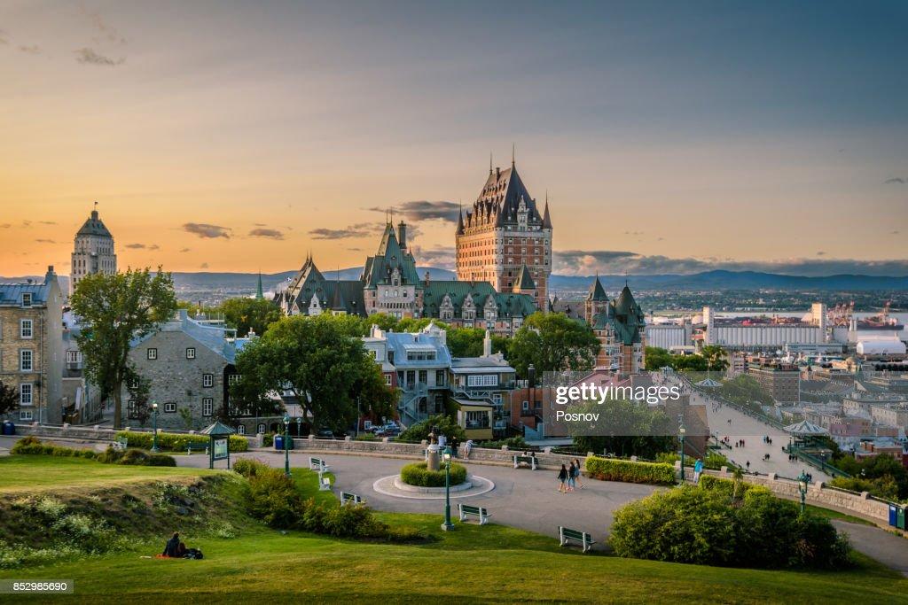 Quebec City skyline, Canada : Stock Photo