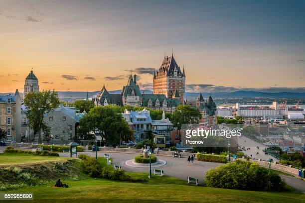Quebec City skyline, Canada