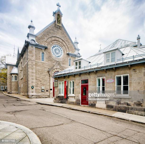 quebec city ursulines museum and chapel - convent stock photos and pictures