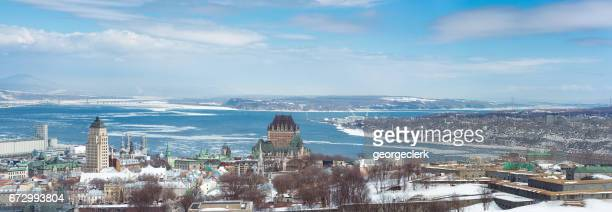 Quebec City winter panorama