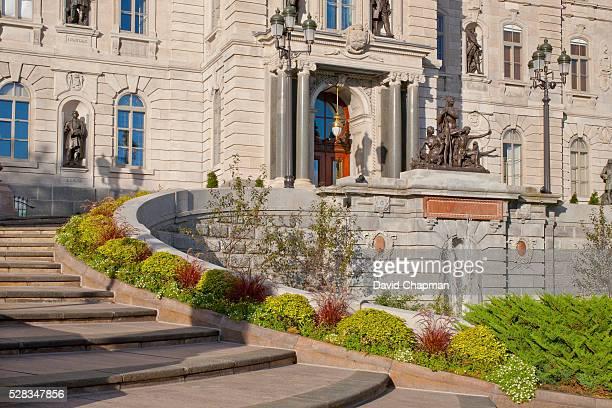 quebec parliament buildings; quebec city, quebec, canada - quebec fotografías e imágenes de stock