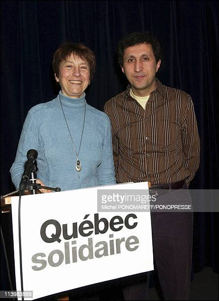 Quebec Solidaire the new kid on the Quebec political block In Montreal Canada On February 26 2006Born of the merger of two leftleaning parties Option...