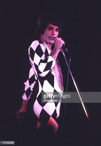 Queen 1975 Freddie Mercury in London United Kingdom