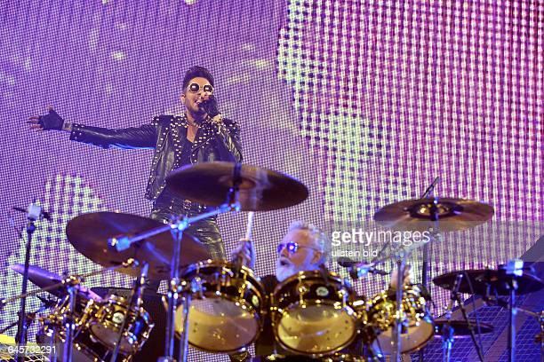 Queen Adam Lambert 'European'Tour 2015Adam Mitchel Lambert Brian Harold May CBE und Roger MeddowsTaylor LanxessArena Köln